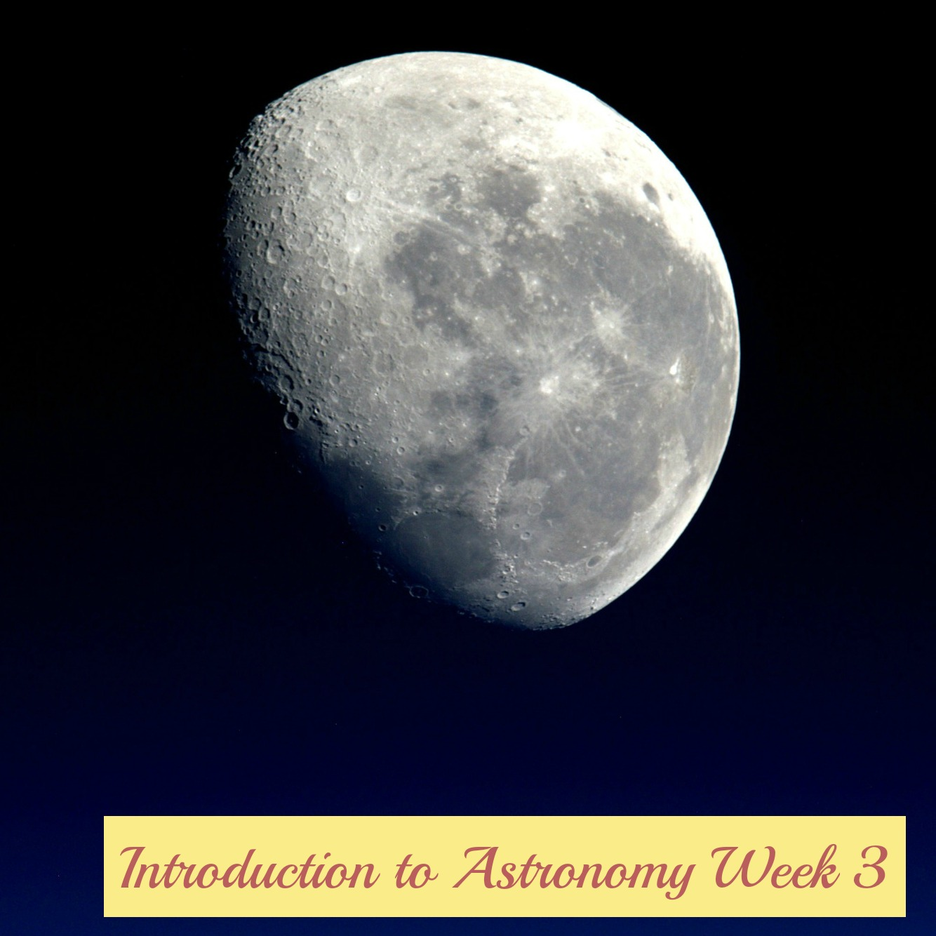 week 3 telescopes in astronomy paper Sci 151 week 3 stars and telescopes  science of stars paper option 2: telescopes in astronomy  telescopes in astronomy.