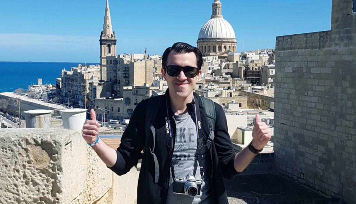 Solo photo in Valletta