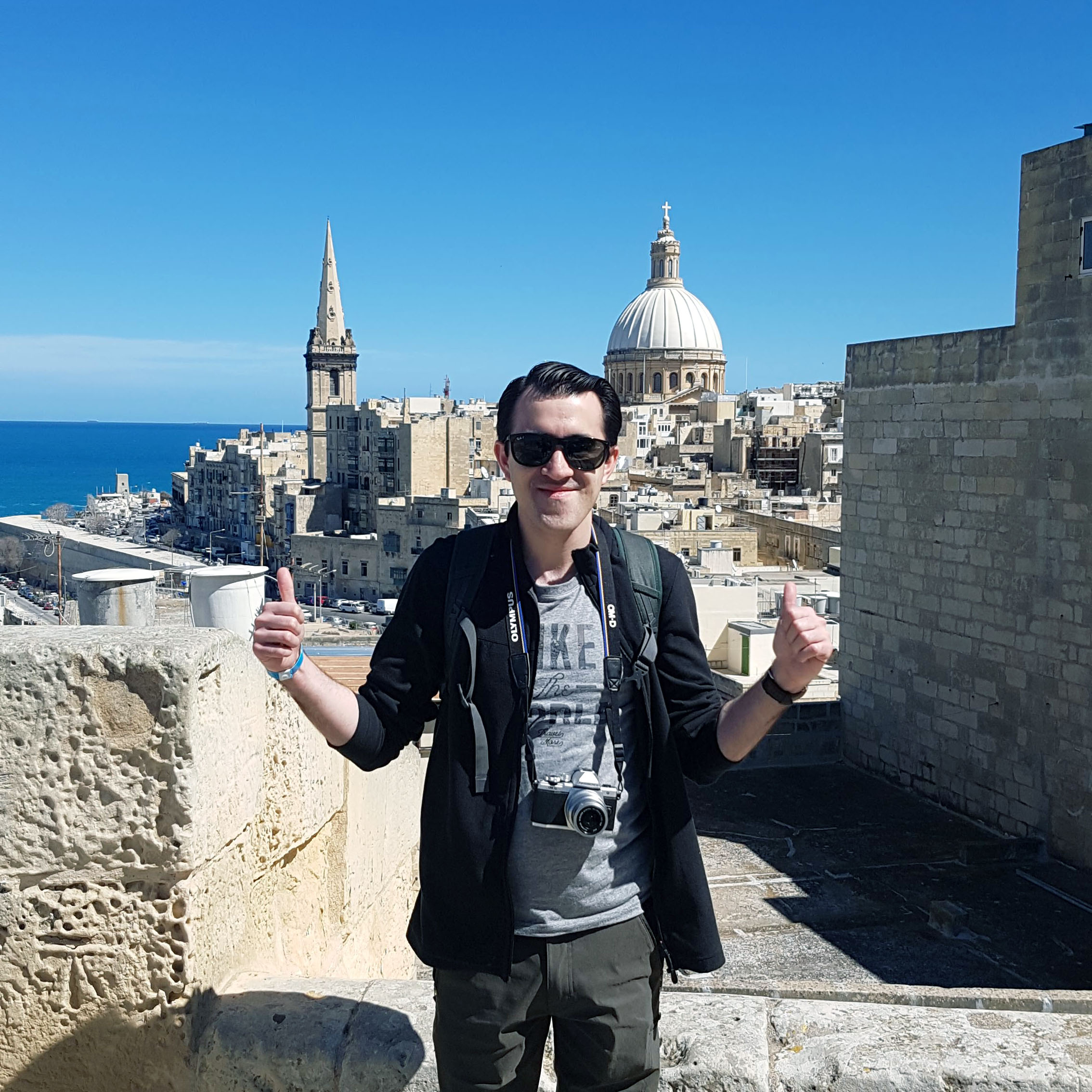 Solo photo in Valletta