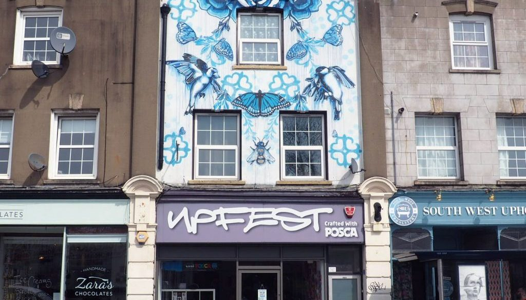 Upfest Bristol Learning about street art