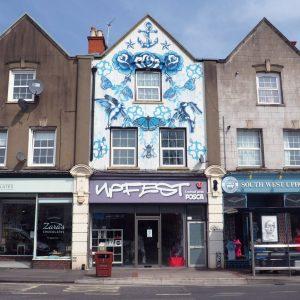 Upfest Bristol Learning about street art