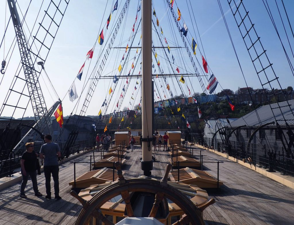 Deck of SS Great Britain