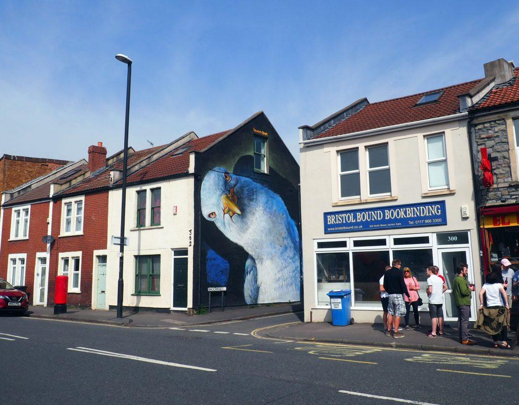 Street Art work by Irony Be