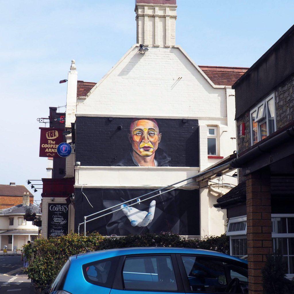 Street Art work by Nuno Viegas and Tyron De Laat