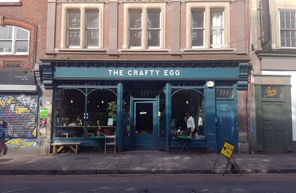 Breakfast at The Crafty Egg